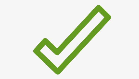 Picture of check mark signifying benefits of alternative working capital loans