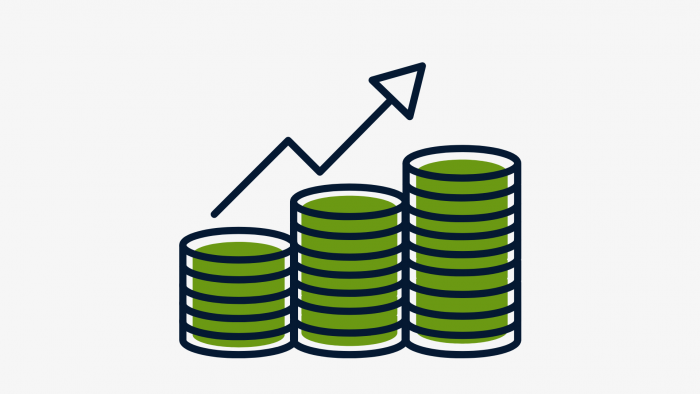 Image of increasing profit signifying how you can get expansion loans to expand your business