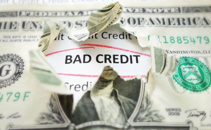 Smart Financial Choice With Bad Credit